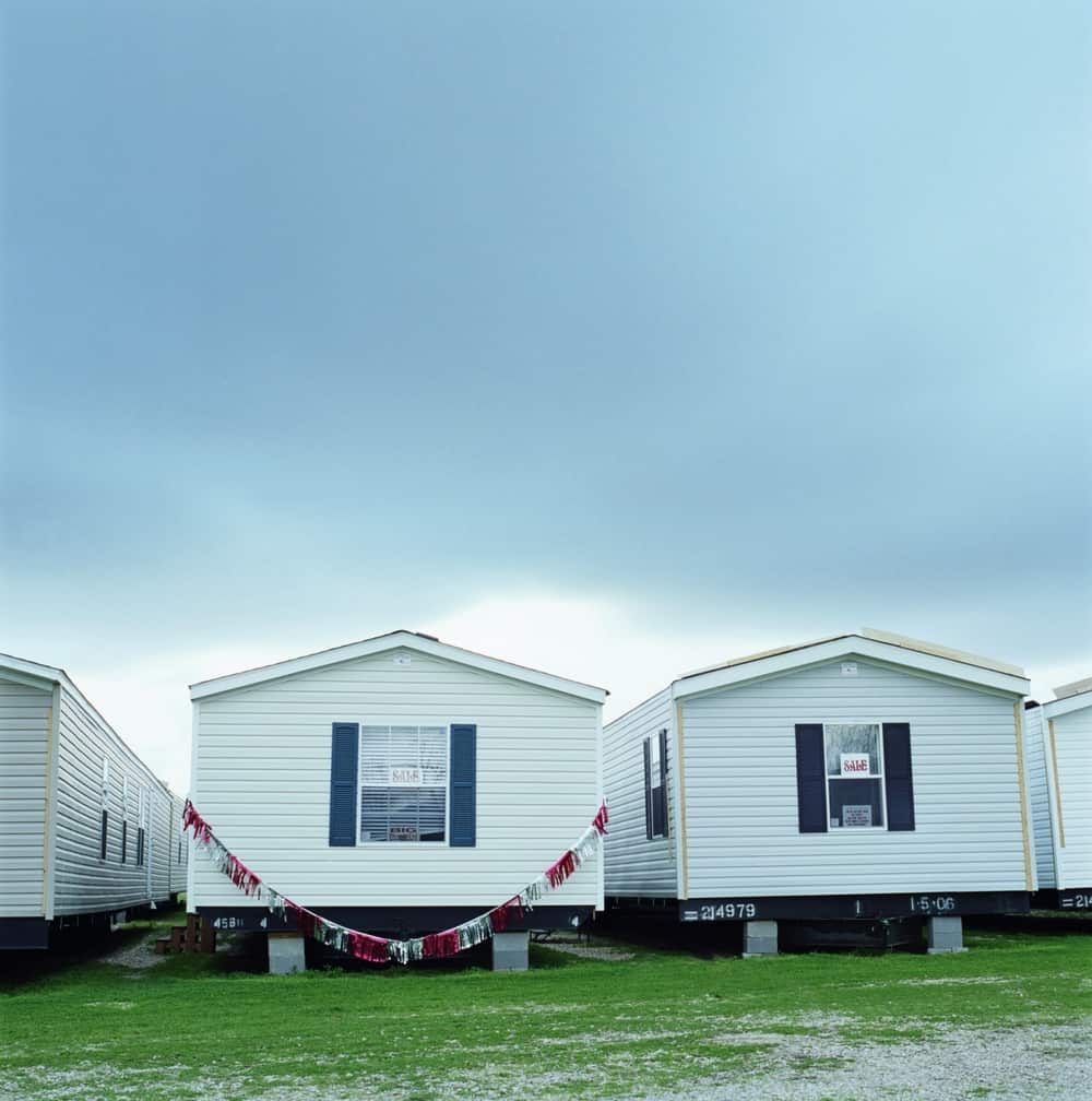 Single Wide Manufactured Homes On Dealers Lot