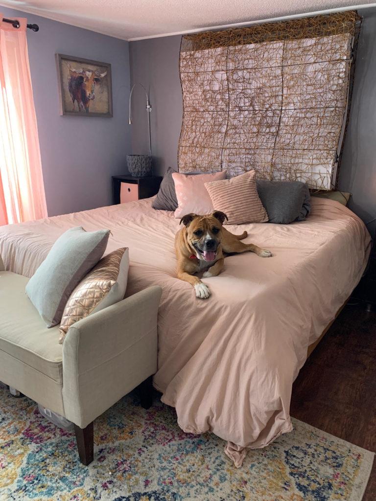 Skyline master bedroom