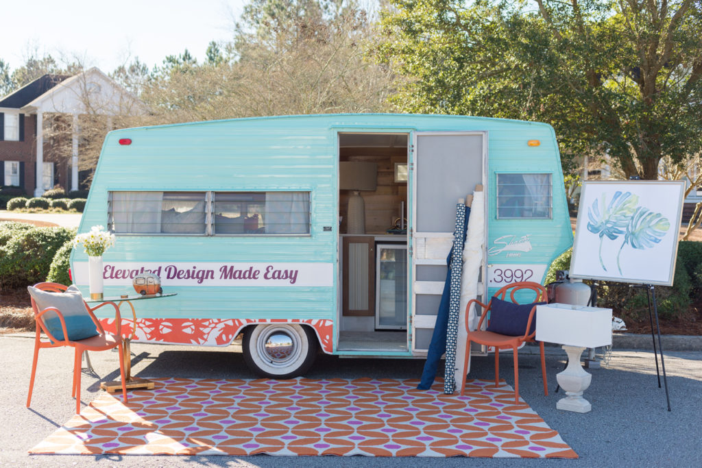 Skys the limit interior design trailer