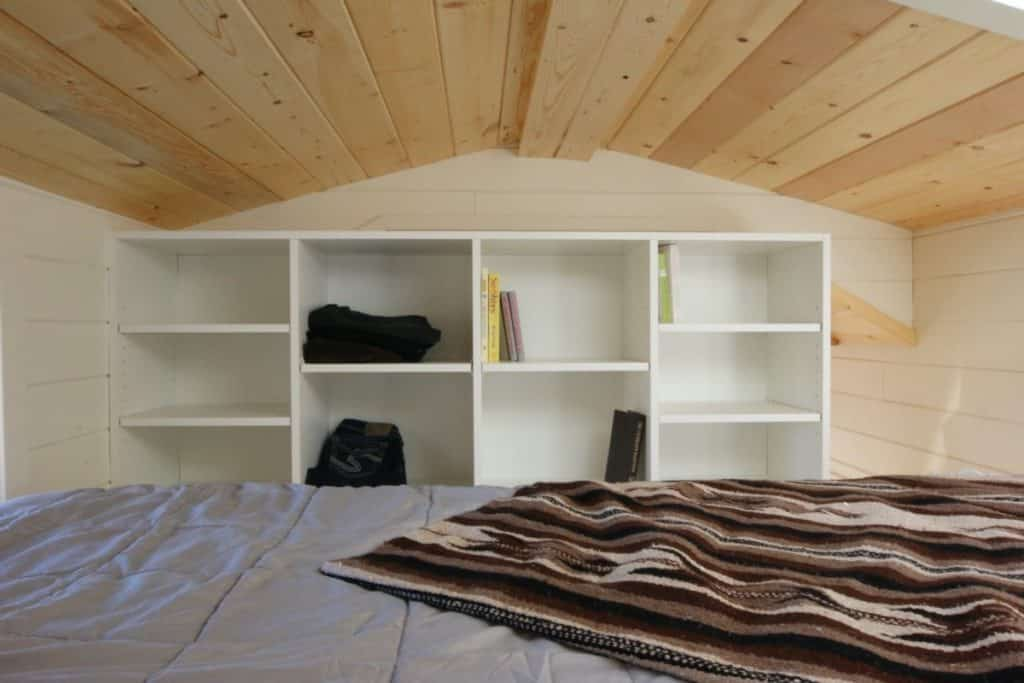 Solar powered shelf
