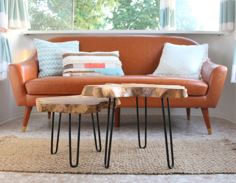 Spartan sofa and table