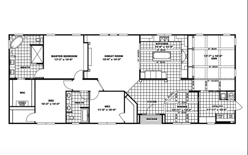 St croix floor plan