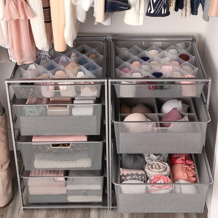 Storage carts for bedroom