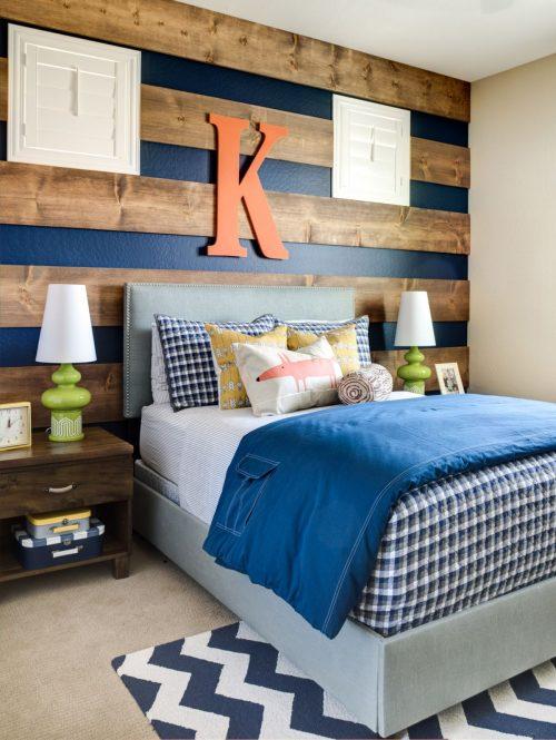 Striped wood accent wall ideas 500x665 1