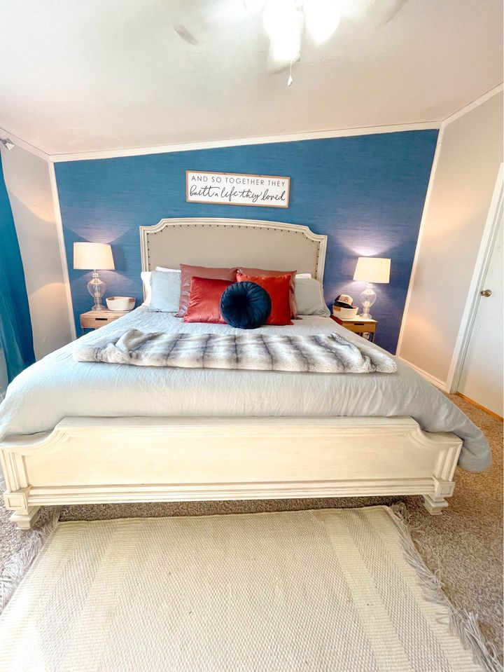 Texas master bedroom