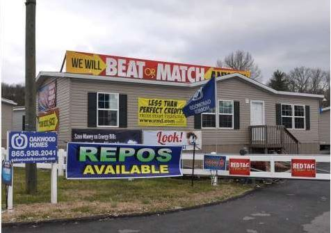 buying a new manufactured home - dealership lot