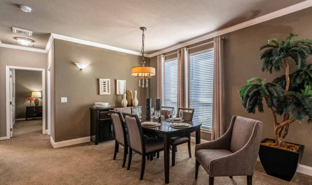 Timber ridge elite dining room
