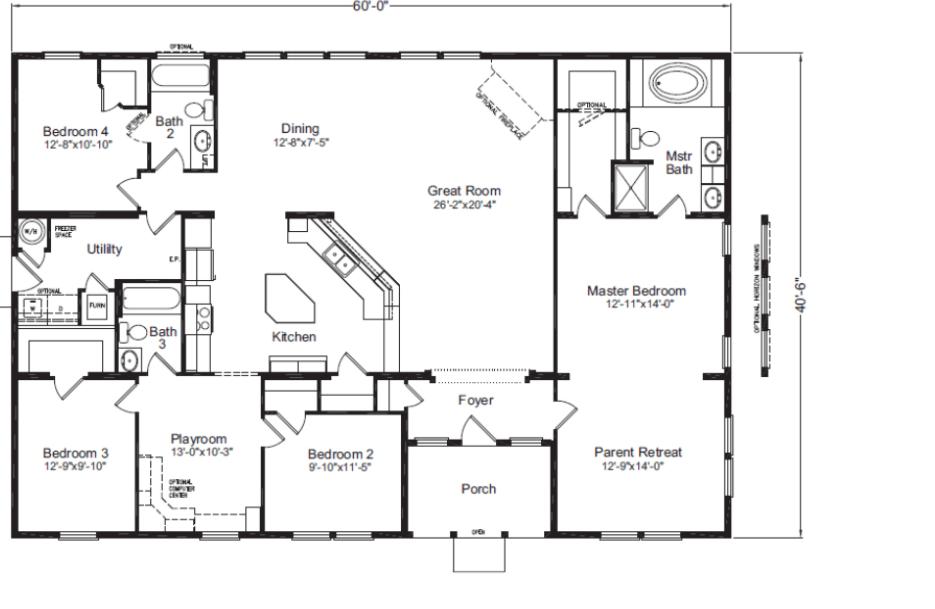 Timber ridge elite floor plan