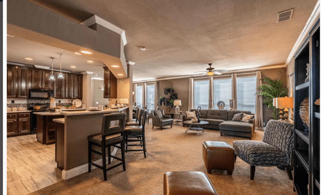Timber ridge elite interior