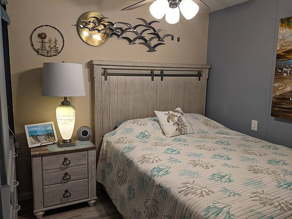 Tiny home bedroom 1