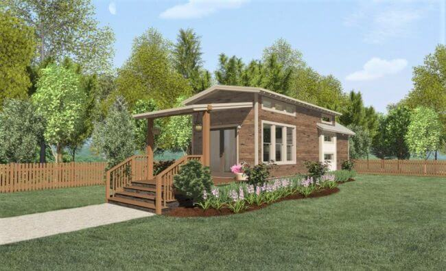 tiny home designs-the alexander exterior
