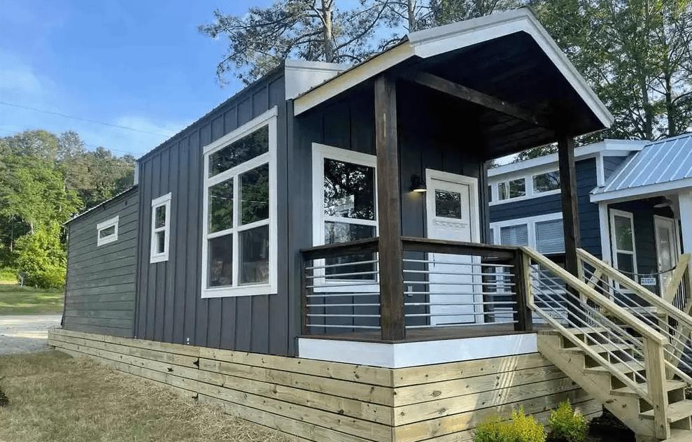 Tiny homes for sale alabama exterior
