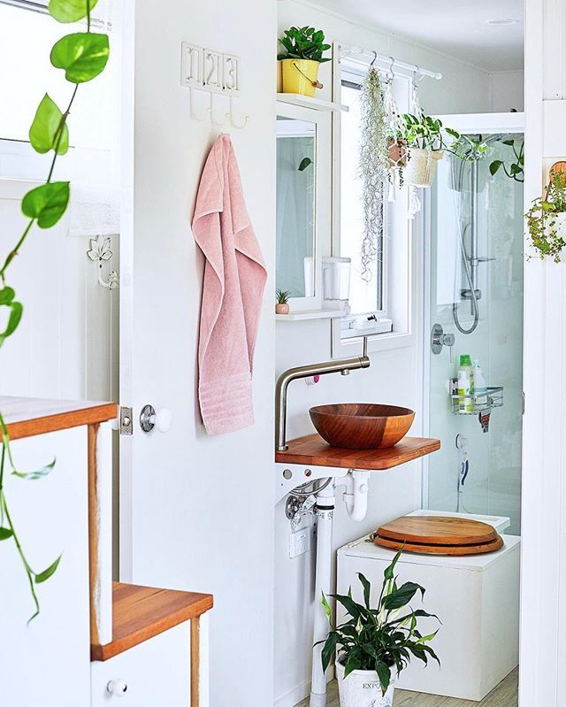 Tiny House Bathroom Look