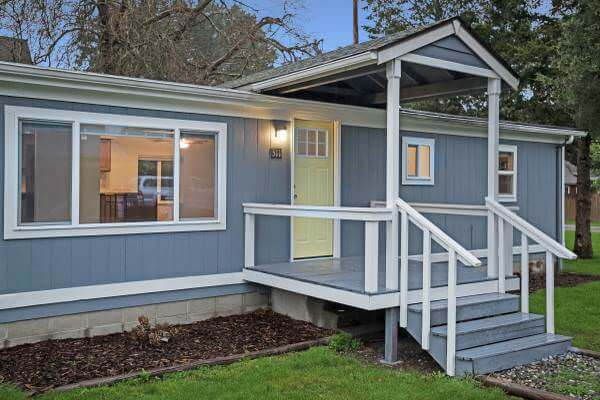 top finds in mobile homes-remodeled exterior