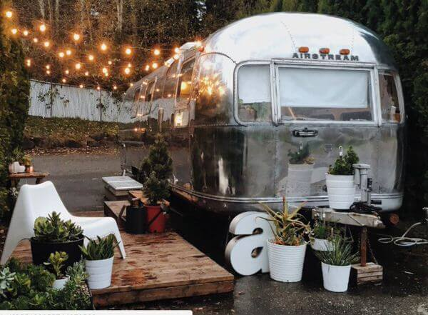 Transforming A Vintage Airstream Into Tiny Home Retreat on