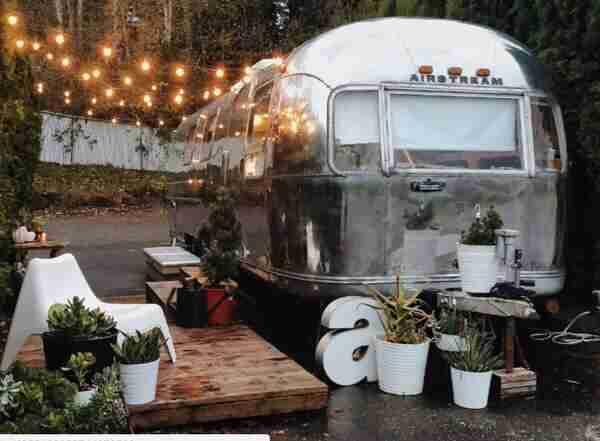 Transforming a Vintage Airstream Into a Tiny Home Retreat