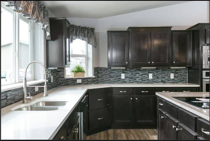Triple Wide Manufactured Home Kitchen