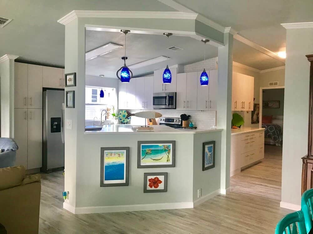 Tropical Eclectic Mobile Home