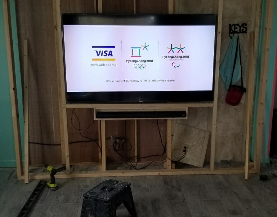 Tv Spot During The Remodel