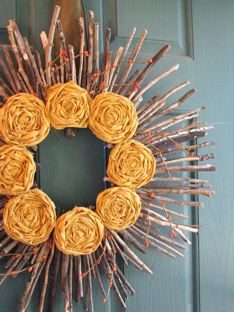 10 Fall Decorating Ideas you Can Actually Afford (no $150 wreaths here!) 2