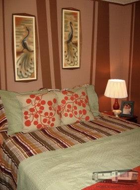 Unique mobile home decor calm bedroom