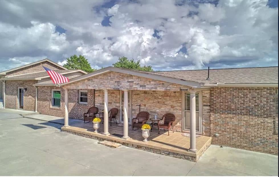 Unusual manufactured homes brick beauty front porch