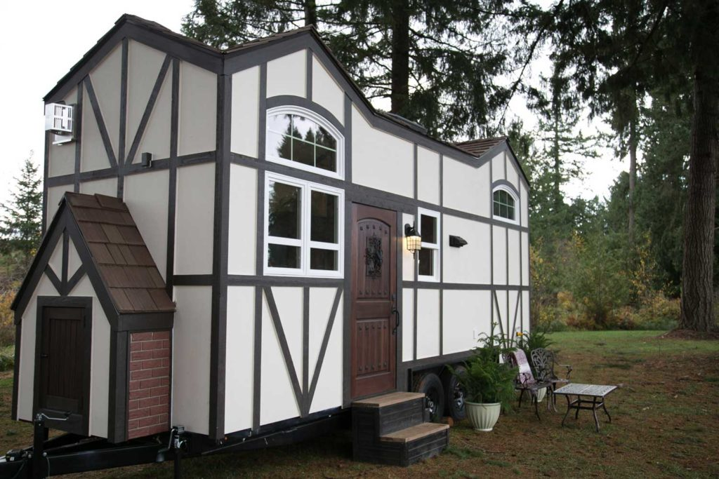 Unusual tiny homes whimsical exteriors