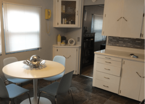 update mobile home kitchen cabinets - new knobs and pulls work great