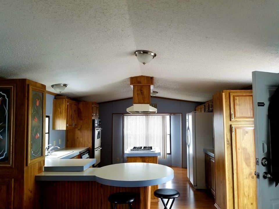 Updated single wide kitchen