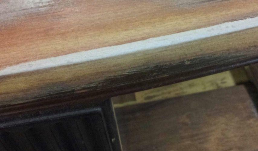 Using wood filler on mdf edge after sanding