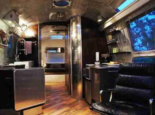 vintage airstream remodel-interior