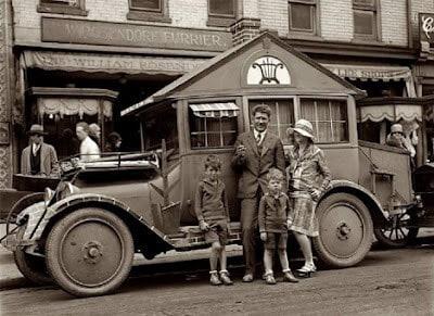 Vintage Antique Mobile Home