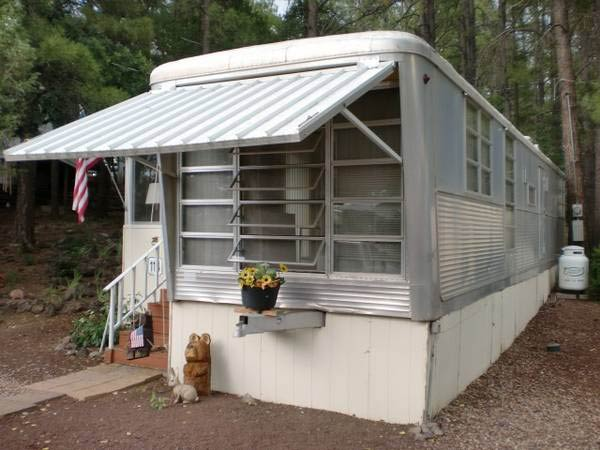Vintage trailer homes spartan carousel trailer
