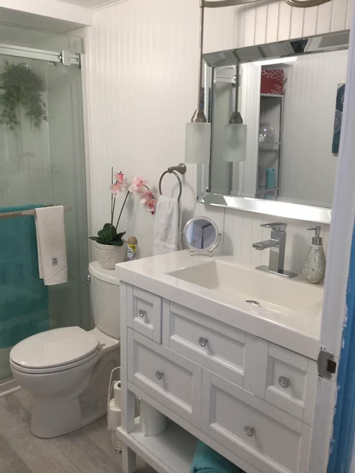 Wendy bathroom vanity after