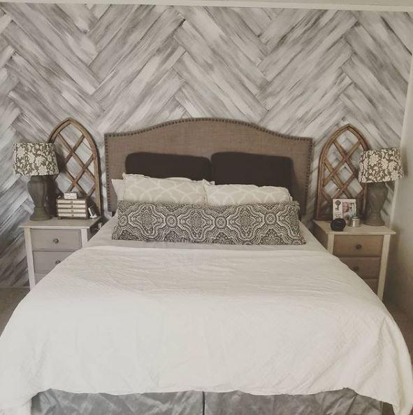 White copper bedroom
