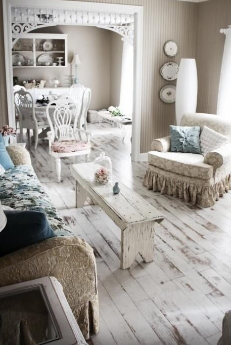 Whitewashed floor 1