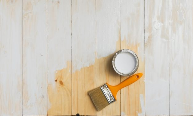 Affordable DIY Plywood Flooring Project