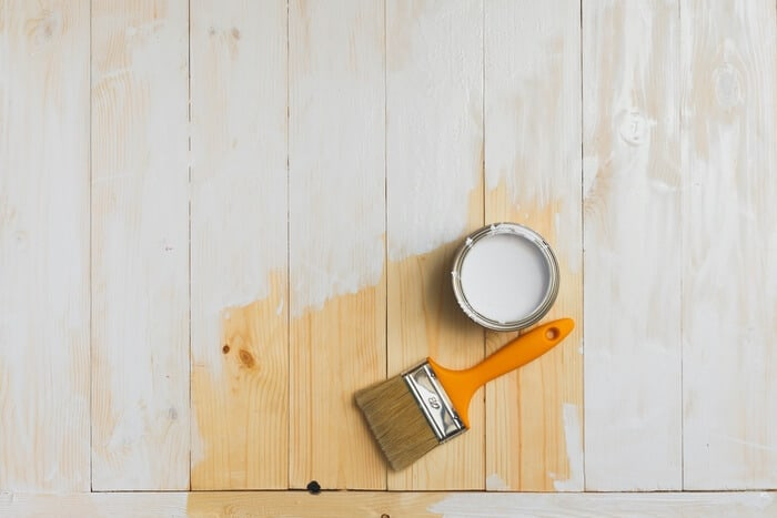 Affordable DIY Plywood Flooring Project 1