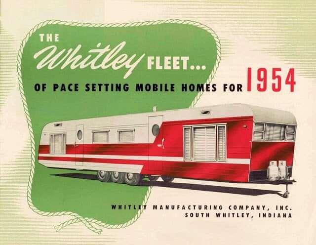 Whitley 1954 Vintage Photo