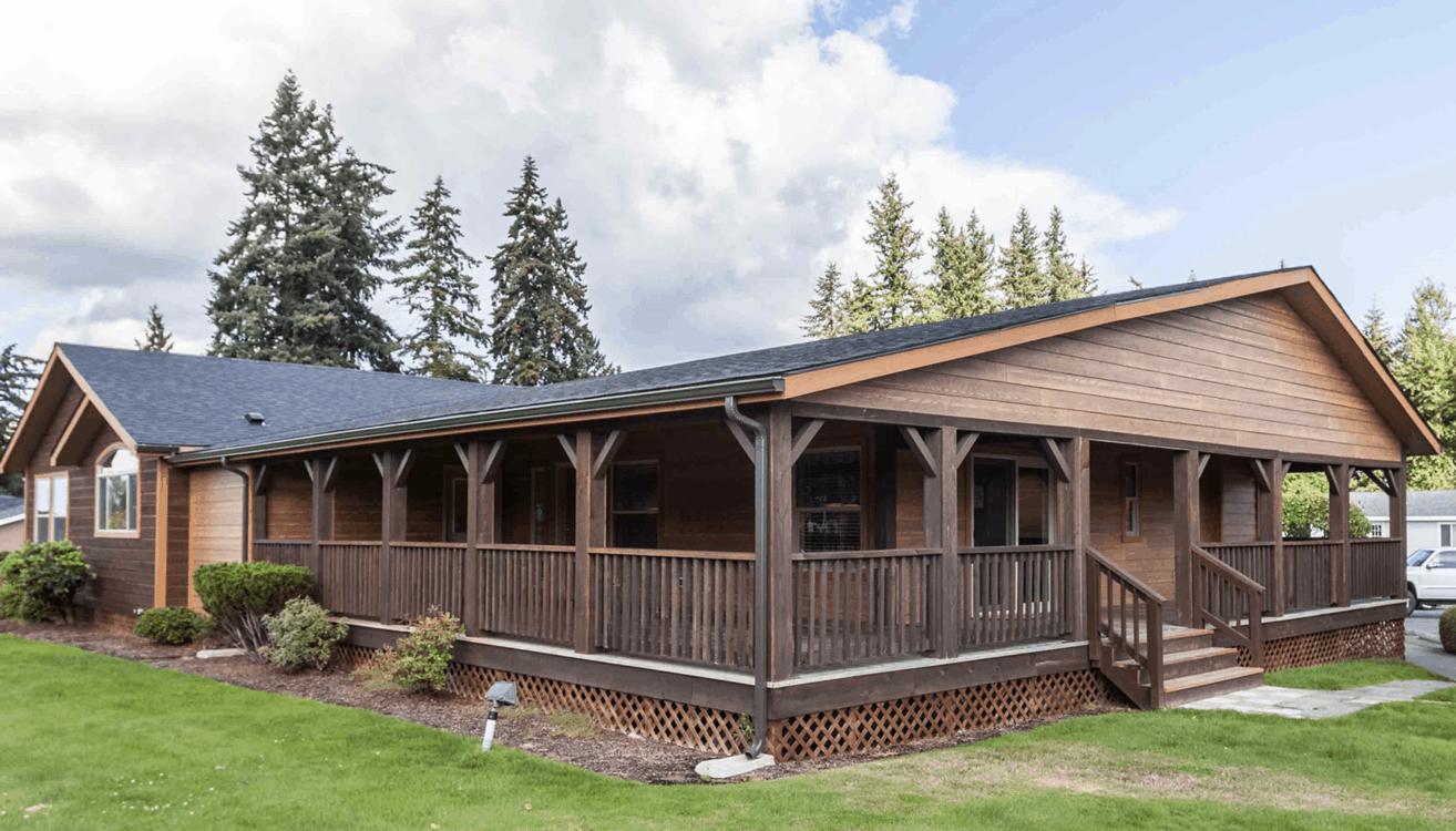 Wraparound porch on kit homes1