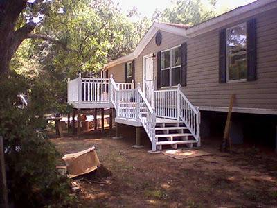 45 Great Manufactured Home Porch Designs | Mobile Home Living on colonial porch designs, double wide back porches, double wide kitchen designs, double wide patio designs, double wide deck designs, double wide back deck,