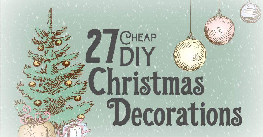 img home mobile home decorating 27 cheap diy christmas decorations