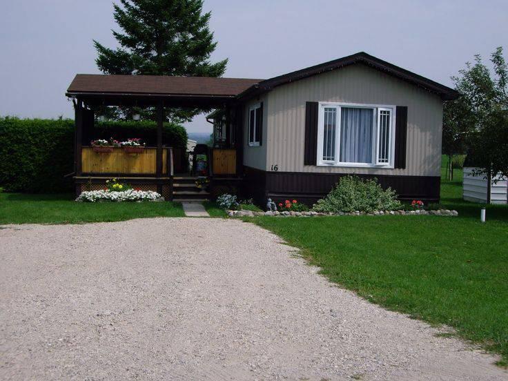 manufactured home porch designs-27 single wide manufactured home covered porch design idea