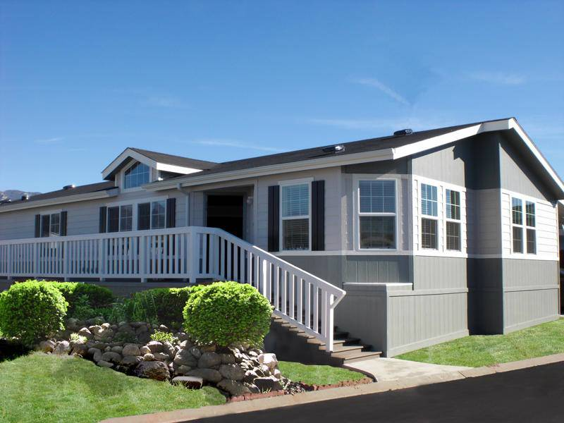 manufactured home porch designs-3 double wide manufactured home deck idea