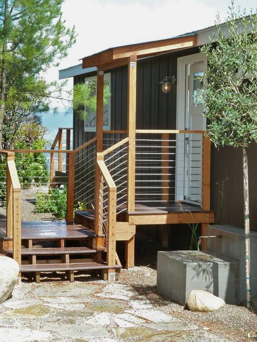 45 great manufactured home porch designs mobile home living for Small house deck designs