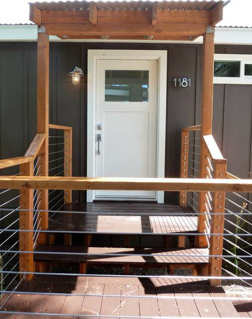 45 great manufactured home porch designs mobile home living for Great tiny homes