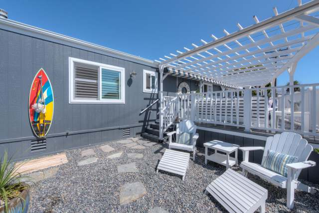 1988 Skyline Double Wide - Complete remodel - Manufactured Home Interior Design - Front of Exterior After 2