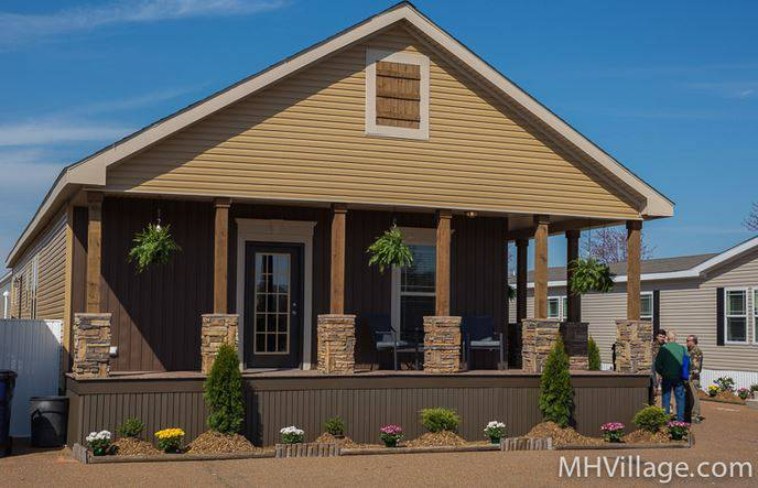 45 great manufactured home porch designs mobile home living for Single wide mobile homes with front porches