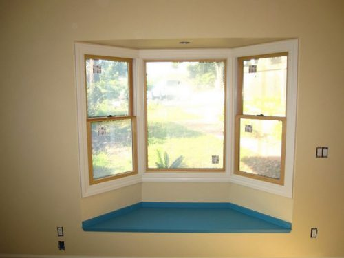 A window seat is one of our Favorite Remodeling and Decorating Ideas for Manufactured Homes