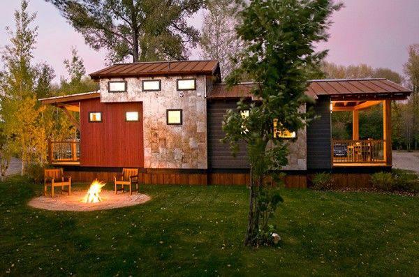 5 park model manufactured home porch ideas